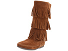 Minnetonka - Calf Hi 3-Layer Fringe Boot