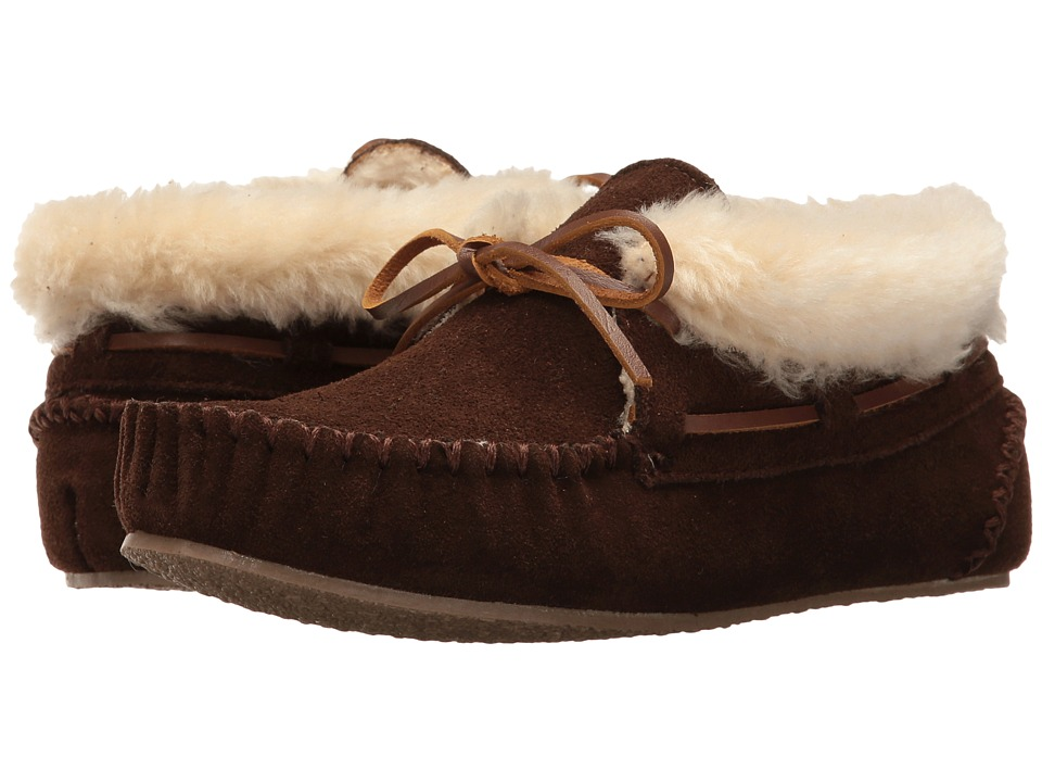 Minnetonka Chrissy Bootie (Chocolate Suede) Slippers