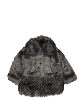 Widgeon Kids - Contrast Fur Jacket & Hat Set (Toddler/Little Kids/Big Kids)