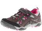 Hi-Tec Kids - TT Elastic Lace Jr. (Toddler/Youth) (Charcoal/Cyclamen) - Footwear