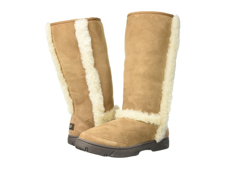 Ugg Sunburst Tall (Chestnut) Women's Boots