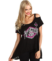 Affliction - Speed Trials Cold Shoulder Tee