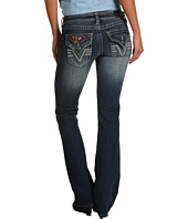 Affliction - Jade Patched Jean in Rosaline