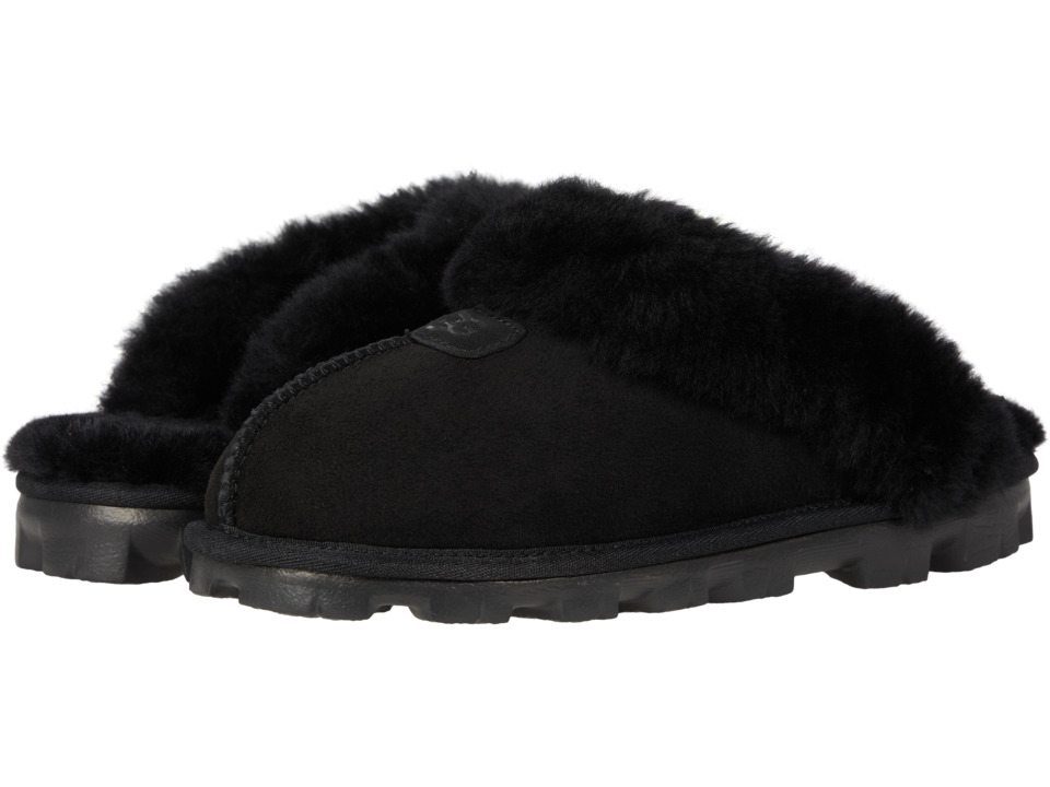 UGG - Coquette (Black) Womens Slippers