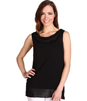 Pure & Simple - Cotton Ramie Sleeveless Sweater Knit Top