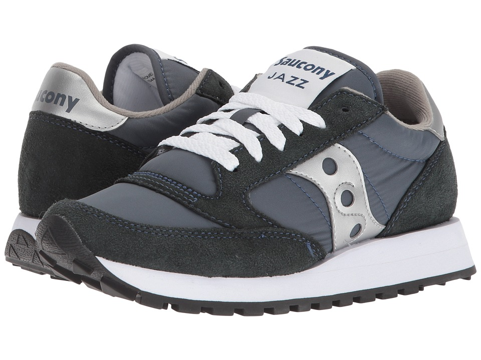 Saucony Originals Jazz Original (Navy/Silver) Women's