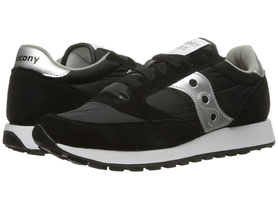 Saucony Originals Jazz Original (Black/Silver) Women's