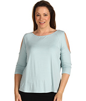 Karen Kane Plus - Plus Size Call Of The Canyon Cold Shoulder Raglan Tee