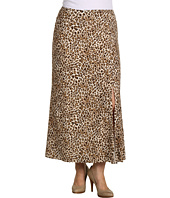 Karen Kane Plus - Plus Size Call Of The Canyon Leopard Print Maxi Skirt