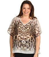 Karen Kane Plus - Plus Size Call Of The Canyon Scarf Top