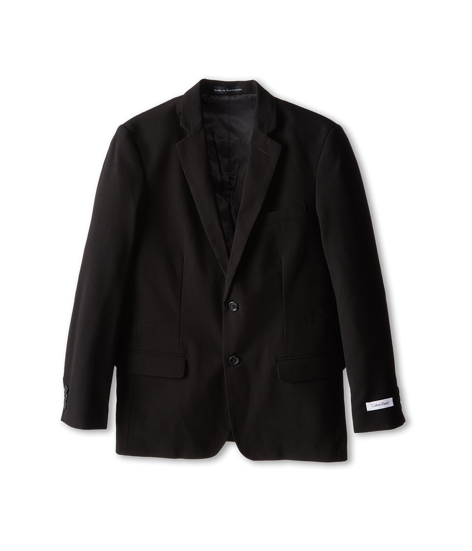 Calvin Klein Kids - Suit Jacket (Big Kids) (Black) Boys Jacket