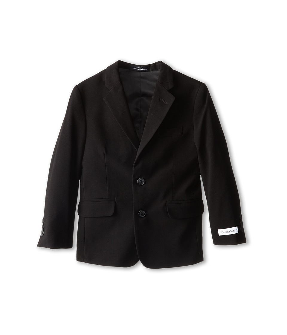 Calvin Klein Kids - Suit Jacket (Little Kids) (Black) Boys Jacket