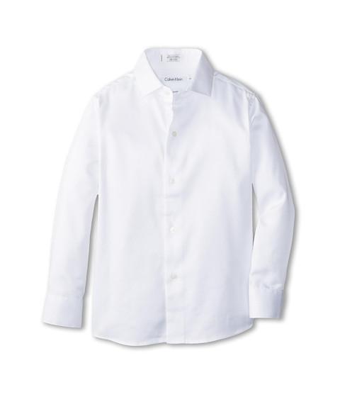 Calvin Klein Kids Sateen Shirt (Little Kids)