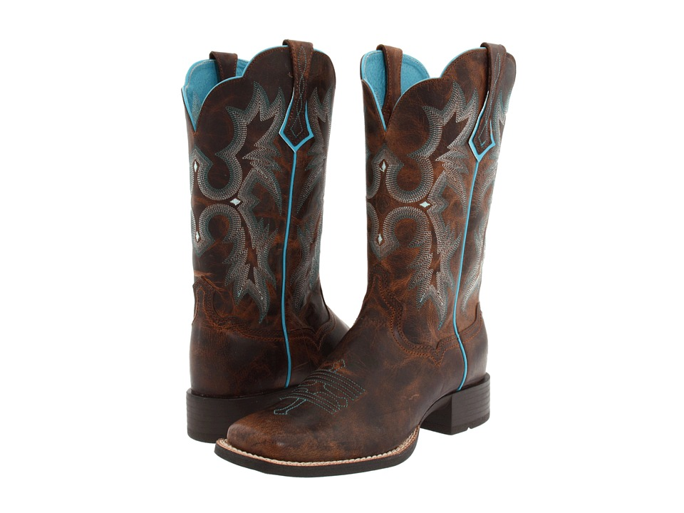 Ariat Tombstone (Sassy Brown) Cowboy Boots