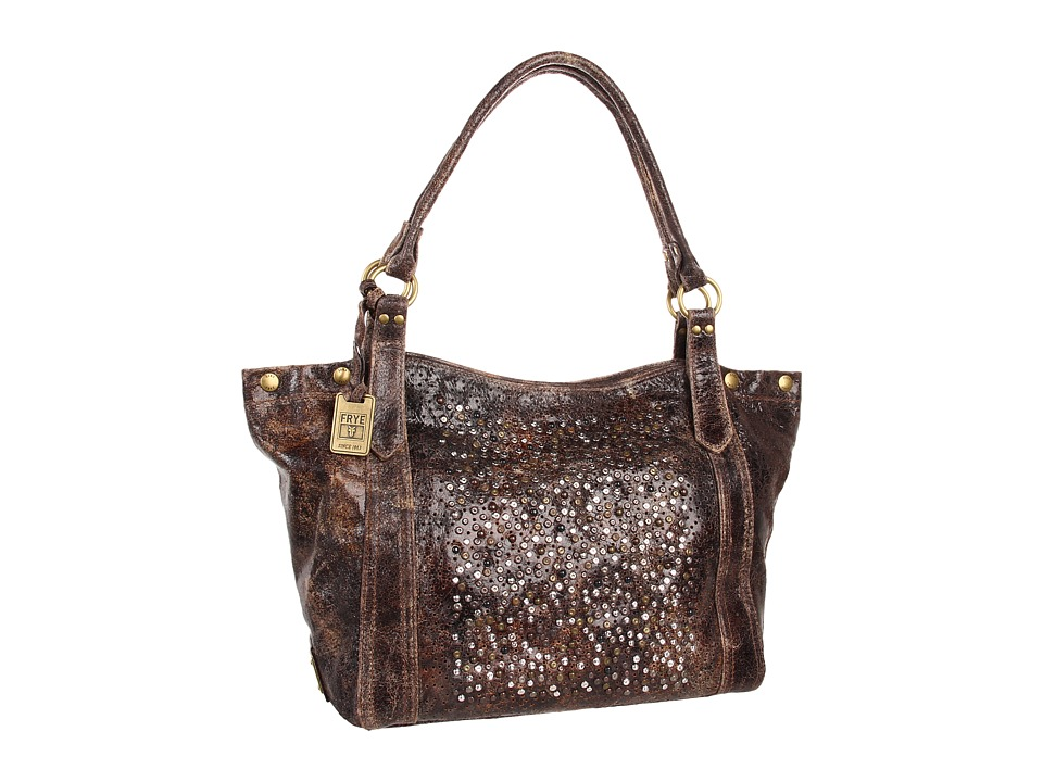 Frye - Deborah Shoulder (Chocolate Glazed Vintage Leather) Shoulder Handbags