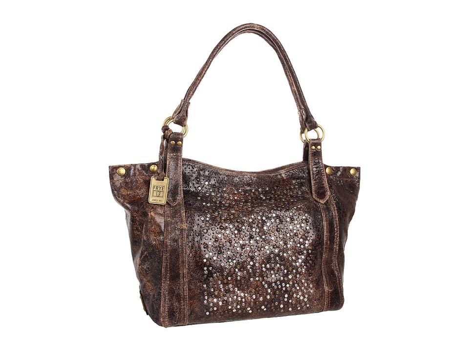Frye - Deborah Shoulder (Chocolate Glazed Vintage Leather) Shoulder Handbags