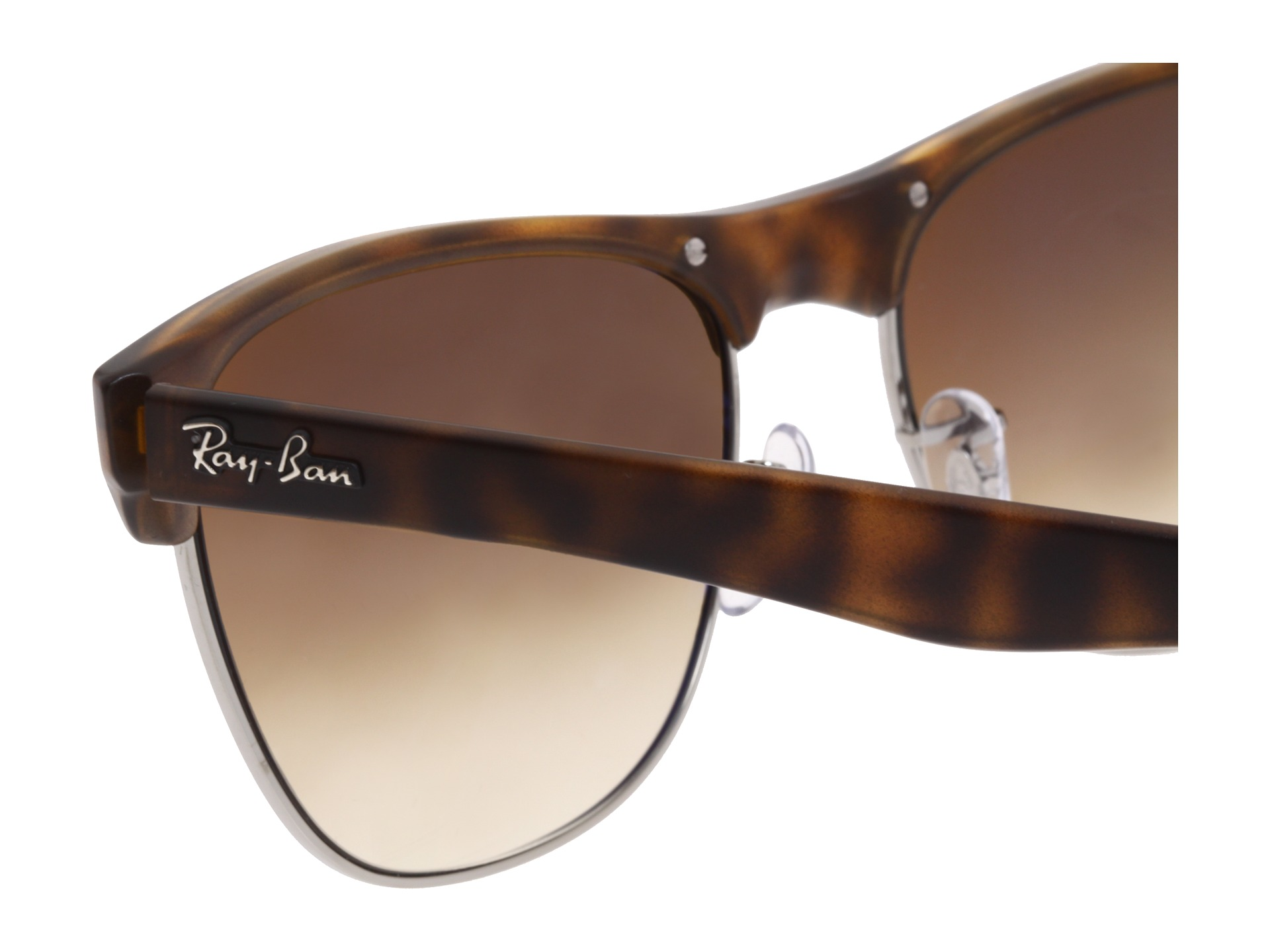 ray ban clubmaster sunglasses oversized  ray ban rb4175 oversized clubmaster 57mm zappos free shipping both ways