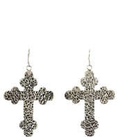 Gypsy SOULE - Antiqued Cross Drop Earrings