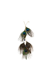 Betsey Johnson - Morocco Adventure Peacock Feather Y-Shaped Necklace