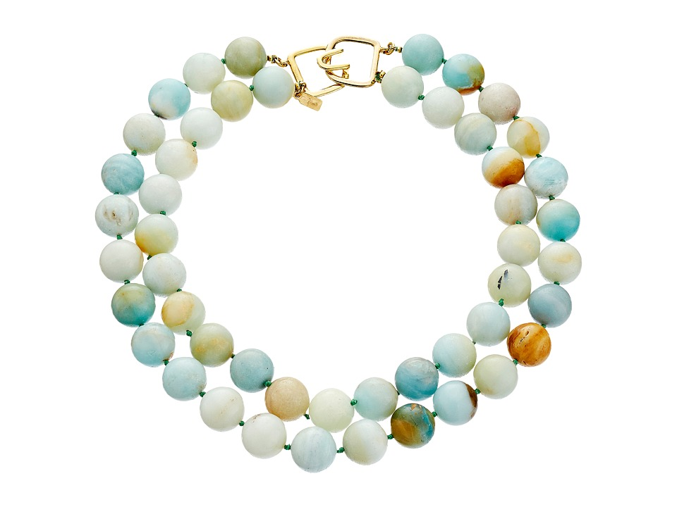 Kenneth Jay Lane - 6438 Necklace (Jade) Necklace