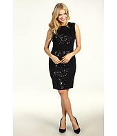 Calvin Klein - Sequined Panel Shift Dress