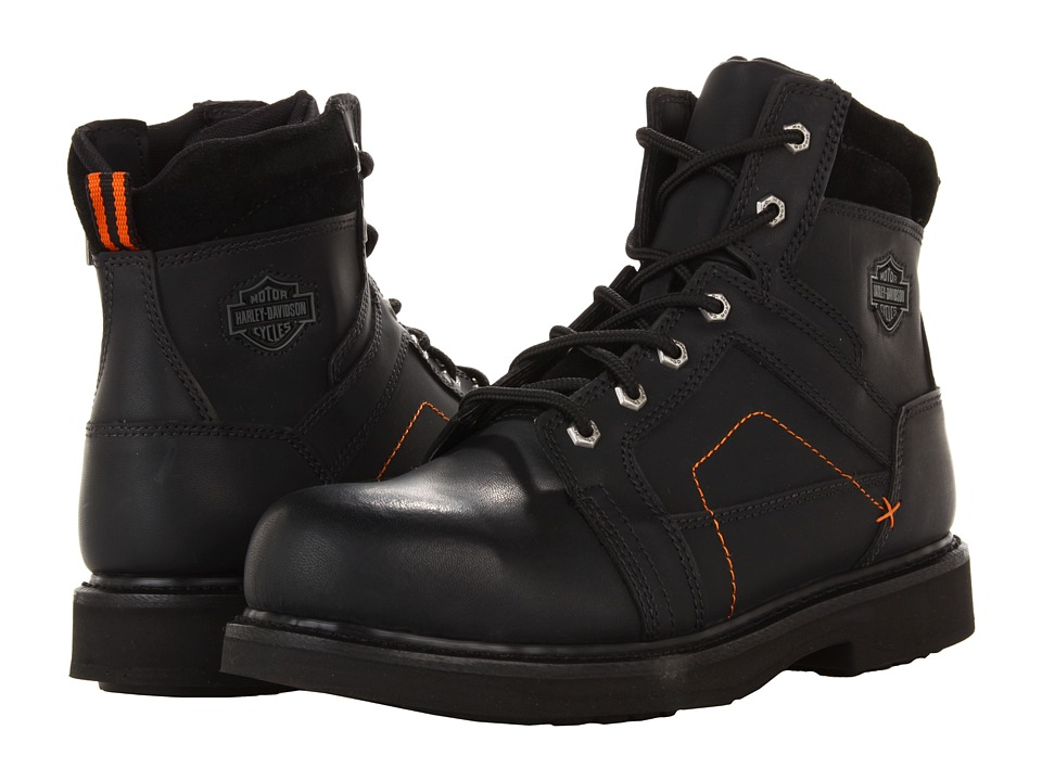 Harley-Davidson - Pete (Black) Mens Work Lace-up Boots
