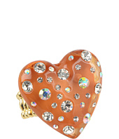 Betsey Johnson - Classic Boost Lucite Heart Ring