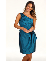 Eliza J - One Shoulder Dress w/ Pleated Bodice