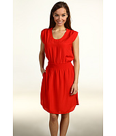 Eliza J - Open Sleeve w/ Scoop Neck Smocked Waist Dress