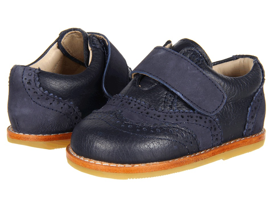 Elephantito Jamie Toddler Navy Boys Shoes