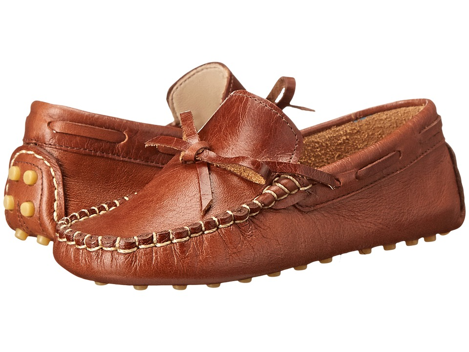Elephantito - Driver Loafers (Toddler/Little Kid/Big Kid) (Cracked Apache) Boys Shoes