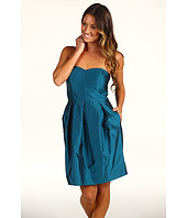Eliza J - Strapless Bridesmaid Dress w/ Inset Waist and Tulip Skirt
