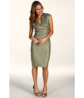 Maggy London - Metallic Ruched Dress