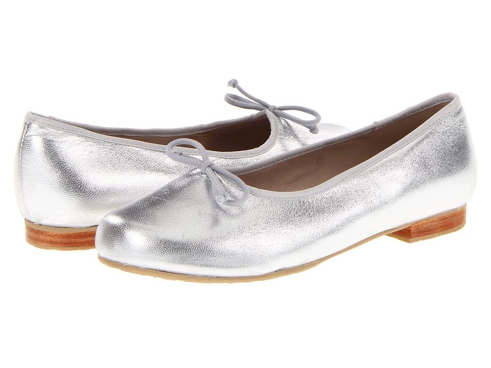Elephantito Andrea Flat (Toddler/Little Kid/Big Kid) (Metallic Silver) Girl's Shoes