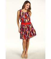 Eliza J - Pleated Dress w/ Drop Waist