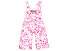 Obermeyer Kids - Snoverall Bib 2 (Toddler/Little Kids/Big Kids) (Cotton Candy Dippy Dots Print) - Apparel