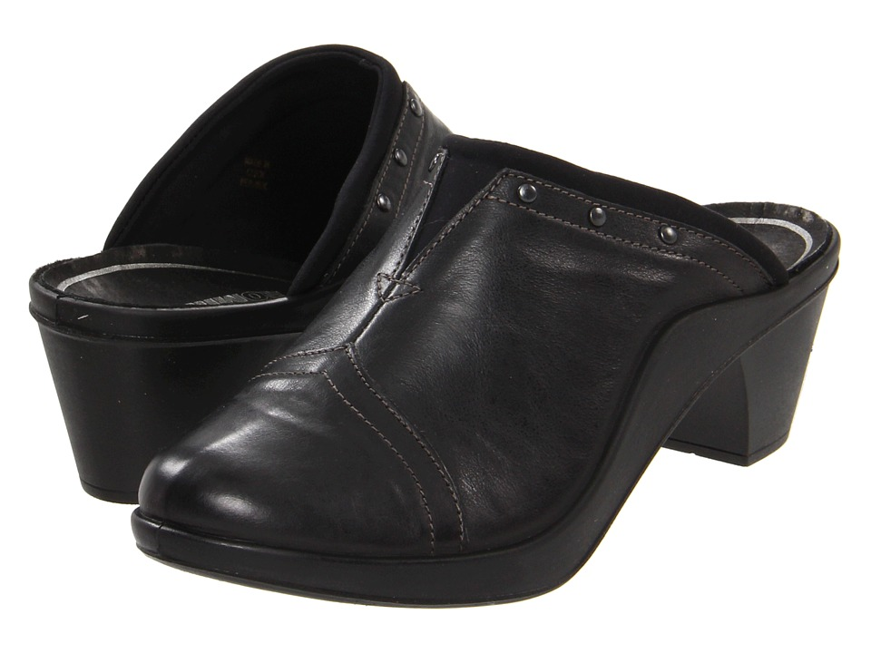 Romika of Germany Mokassetta 271 (Black) Women's Clog Shoes