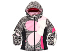 Obermeyer Kids - Kismet Jacket 2 (Toddler/Little Kids/Big Kids) (Black Mi Amor Sweater Print) - Apparel