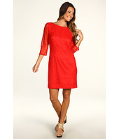 Trina Turk - Studio 3/4 Sleeve Lace Dress