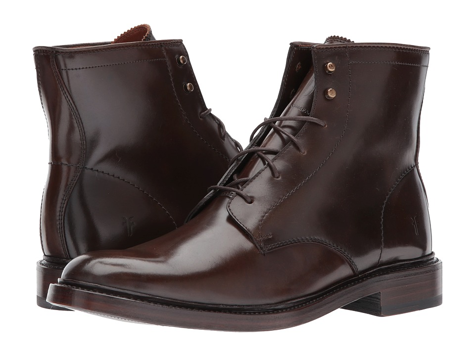 Frye James Lace Up (Dark Brown/Cordovan) Men