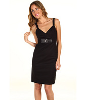 MICHAEL Michael Kors - Sleeveless Dress with Belted Waist