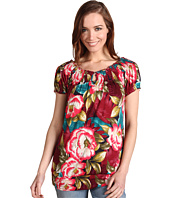 Lucky Brand - Mena Tropical Floral Top