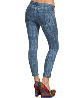 Free People - Feather Print Skinny Crop Jean in Denim Combo
