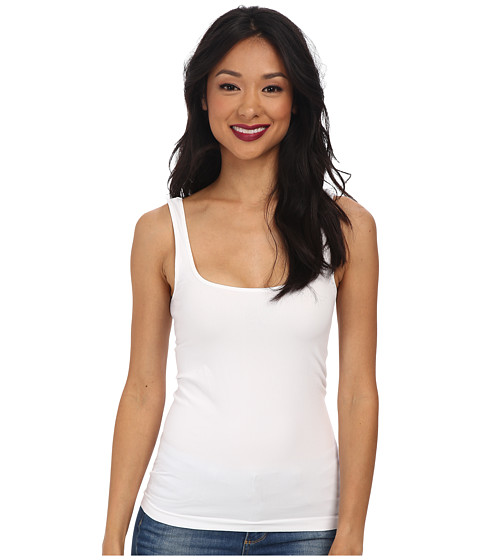Cheap Free People Seamless Scoop Tank White