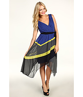 Max and Cleo - Jamie Colorblock Cocktail Dress