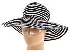 San Diego Hat Company Ribbon Braid Hat Large Brim Stripe