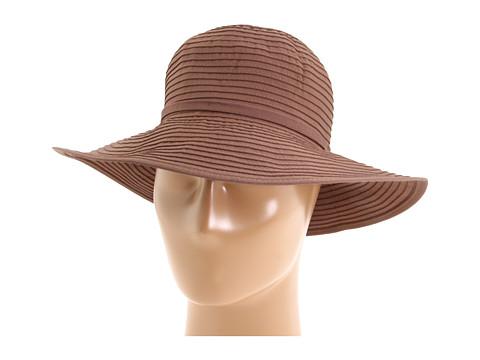San Diego Hat Company Ribbon Braid Hat Medium Brim - Bark