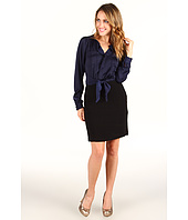 Rebecca Taylor - Essential Suiting Knot-Front Work Dress