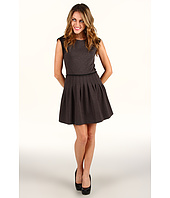 Rebecca Taylor - Ponte Suiting Cap Sleeve Dress