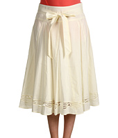 Jones New York - Seamed Skirt With Embroidery